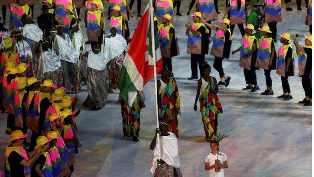 Delegação do Burundi