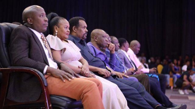 Wageni waalikwa walikuwa Naibu Spika wa Bunge Dk Tulia Ackson,Waziri wa Habari, Dk Harrison Mwakyembe, Waziri wa Habari, Sanaa, Utamaduni na Michezo wa Zanzibar miongoni mwa wengine