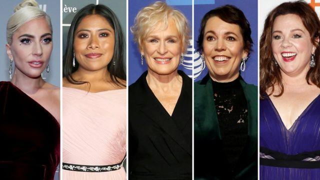 Best actress Oscar nominees