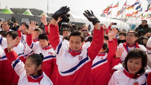 평창 동계올림픽에 북한은 22명의 선수가 참가한다