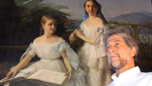 Dom João com quadro de princesa Isabel
