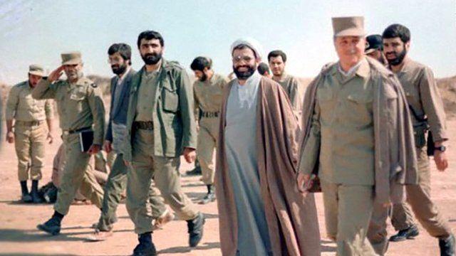 هاشمی رفسنجانی در مناطق جنگی