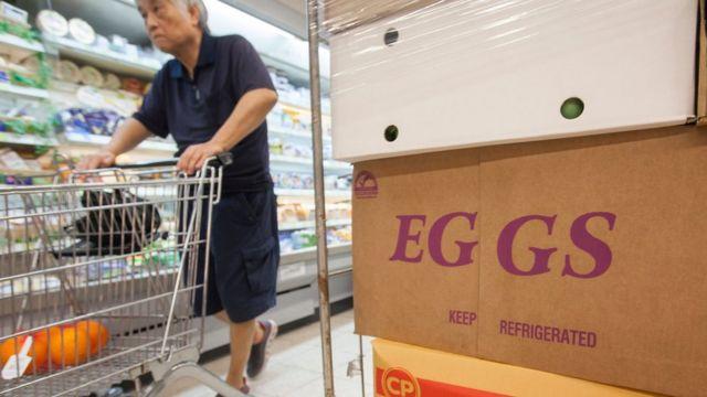 """8月份比利時、荷蘭等歐洲國家曝光受到化學品污染的""""毒雞蛋""""問題,香港政府嚴查從歐洲進口的雞蛋"""