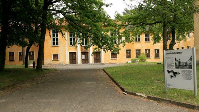 Complexo possuía um teatro que, após os jogos, foi transformado em uma academia de formação militar