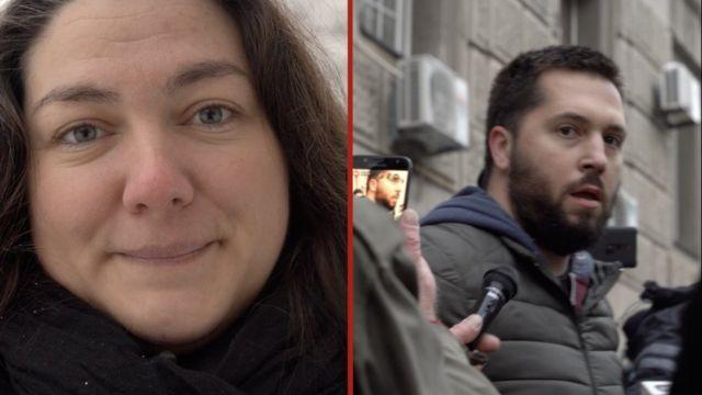Marina Stanojević i Miran Pogačar