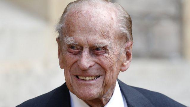 Príncipe Felipe.