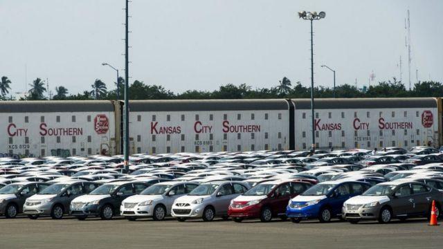 Autos para exportar