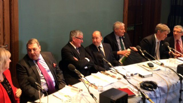 Panellists on the Inverness and Nairn hustings