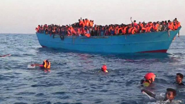 Migrant rescue off the coast of Libya