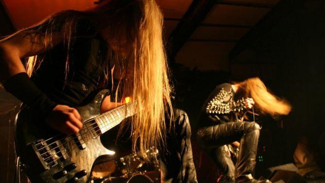 Death metal music inspires joy not violence