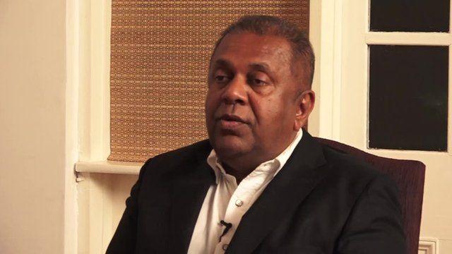 Sri Lanka Foreign Minister Mangala Samaraweera