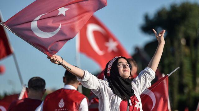 ساعد أنصار أردوغان في إحباط الانقلاب.