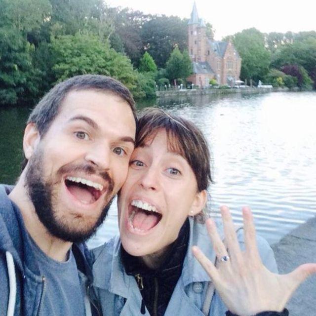 Danilo Venticinque e sua mulher