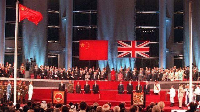 英國表示,《中英聯合聲明》體現了英國和中國兩國政府按照一國兩制的原則,為香港的繁榮、穩定以及香港的生活方式所作的承諾和保證。(資料照片)