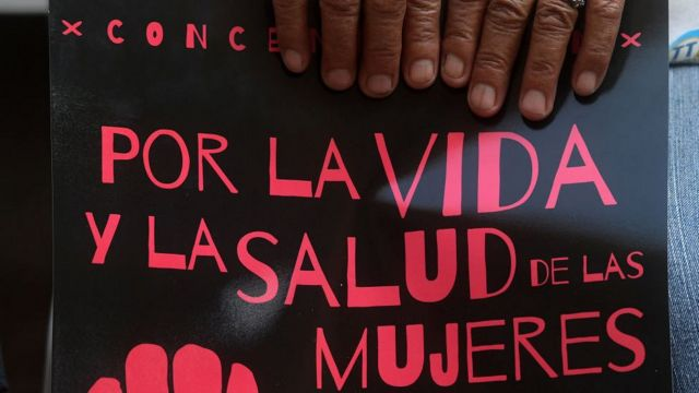 Manifestación por la despenalización del aborto