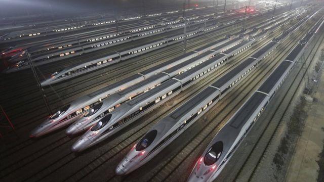 قطارات صينية