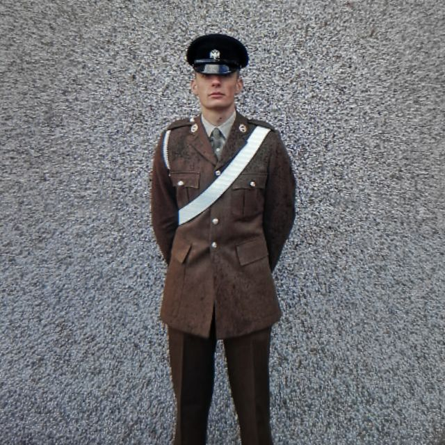 Alex Smith in his Army uniform
