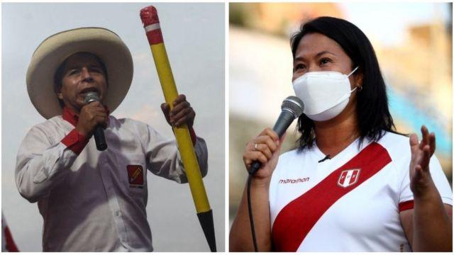 """Elecciones en Perú: """"El escenario más probable para Castillo o Fujimori es que, cuando sean elegidos, el público peruano los rechace"""" - BBC News Mundo"""