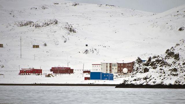 Base de China en Antártida