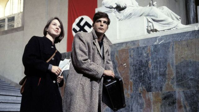 Sophie and Hans Scholl in the 1982 film