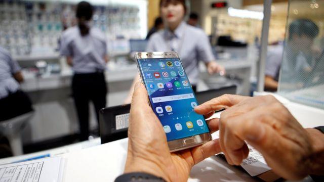 Piyasadan toplatılan Note 7 telefonu