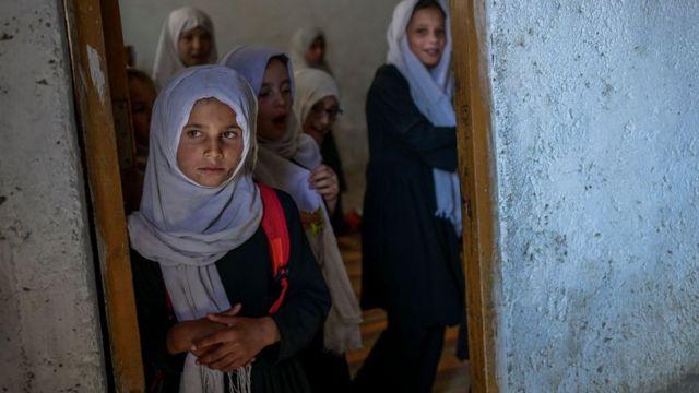 Школьницы в Кабуле