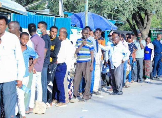Doorashada Somaliland oo saf loogu jiro