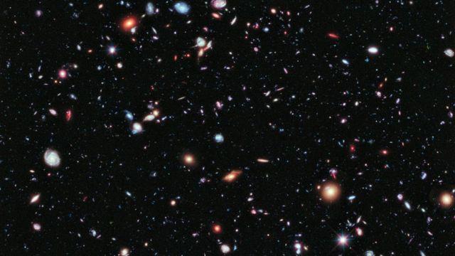 Imagem HDF do Hubble