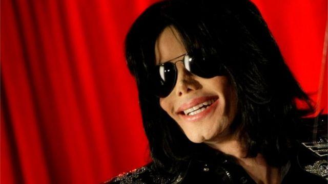 Retrato de Michael Jackson