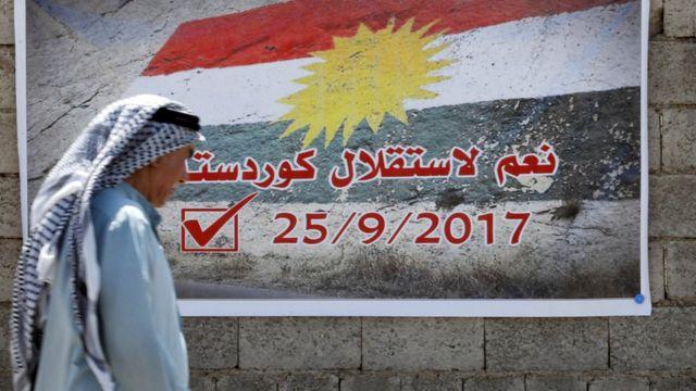 مسعود بارزاني وعد بالمضي قدما في إجراء الاستفتاء رغم رفض البرلمان العراقي