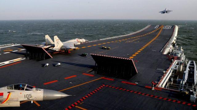 2018年南海軍演遼寧號航母