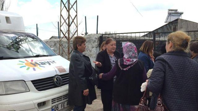 CHP heyeti köy ziyaretinde