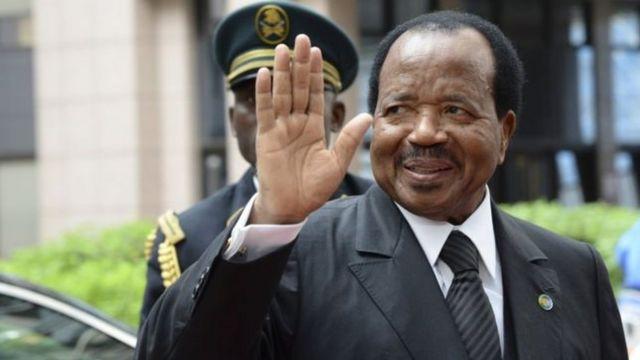 President Paul Biya don dey for power since 1982