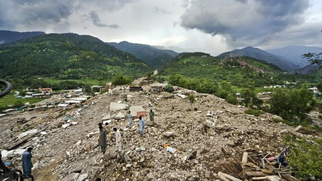 ২০০৫ সালের ভূমিকম্পে প্রায় ধ্বংস হয়ে গিয়েছিল বালাকোট