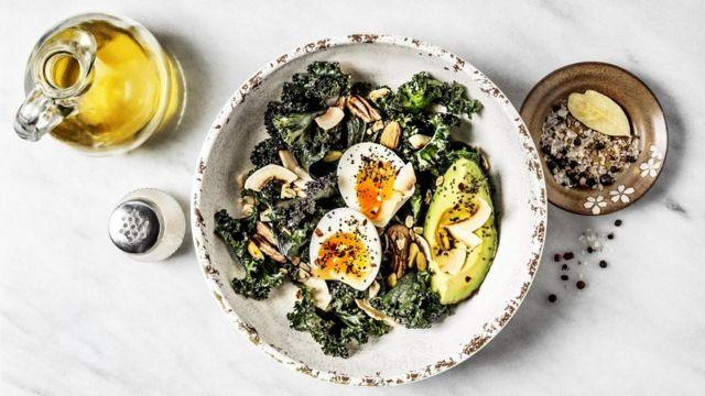 Prato com ovo