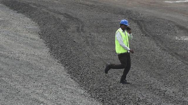 Proyek pembangunan jalan di India