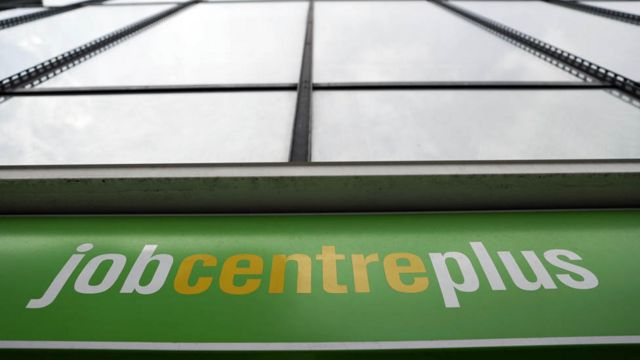 Job Centre Plus in east London