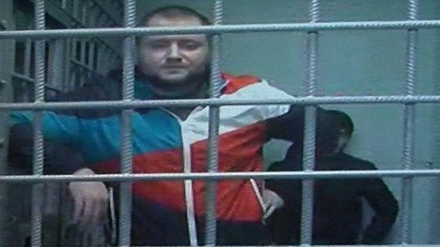 Владимир Воронцов во время судебного заседания