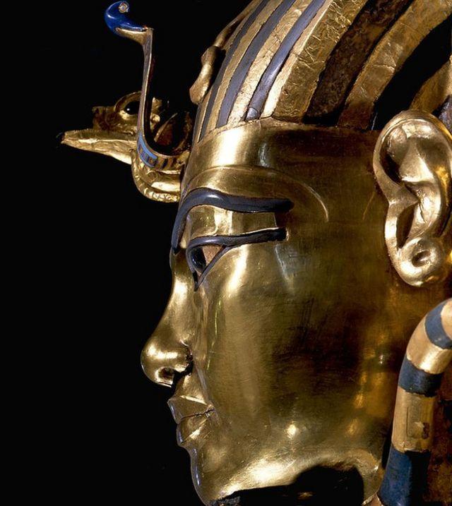 Máscara de muerto de Tutankamón