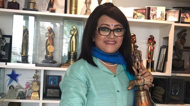 বাংলাদেশের অভিনেত্রী ববিতা।