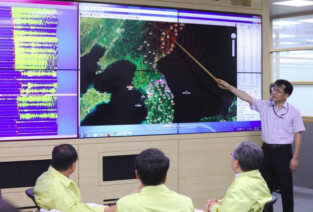 Estación Meteorológica de Corea del Sur en Seúl.
