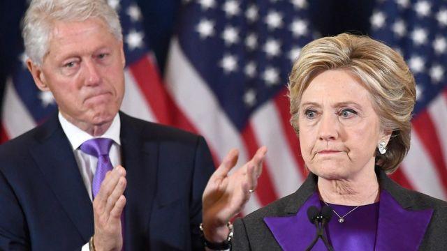 هيلاري وزوجها بيل كلينتون