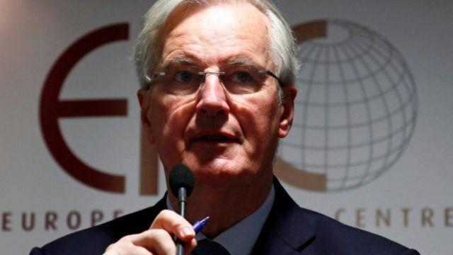ミシェル・バルニエEU首席交渉官(2日朝、ブリュッセル)