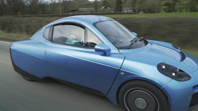 The new Rasa hydrogen-powered car