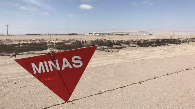 Mina frontera Chile