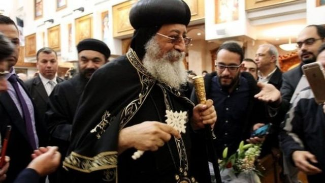 البابا تواضروس بابا الإسكندرية