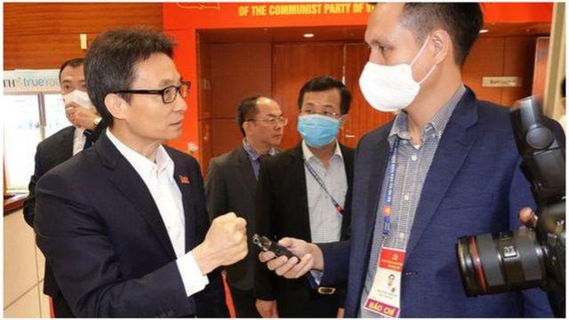 Ông Đam đã nói về quyết tâm khống chế dịch trong 10 ngày khi dịch mới bùng phát tại hai nơi là Hải Dương và Quảng Ninh