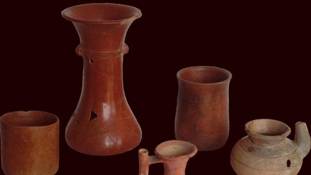Ollas de 2.000 años de antigüedad encontradas en México
