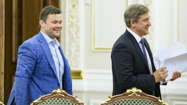 Андрій Богдан та Олександр Данилюк