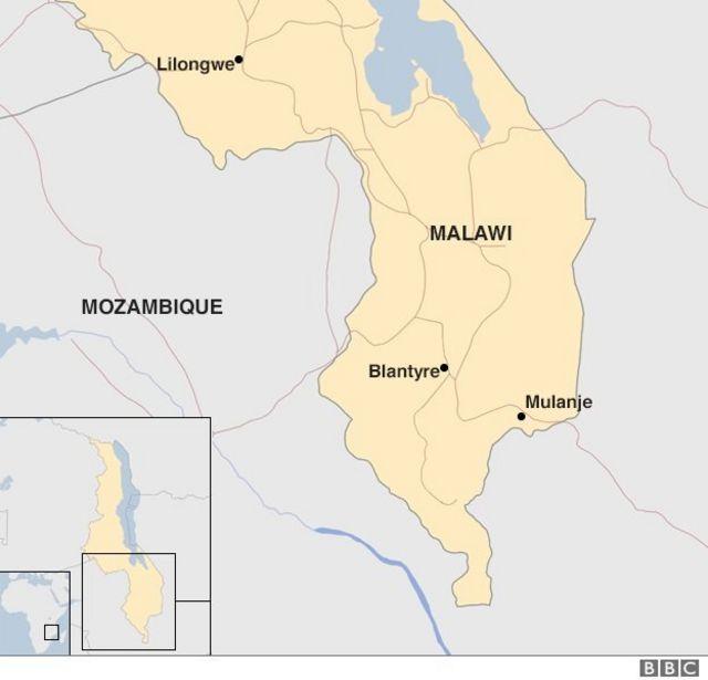 Taswirar kasar Malawi